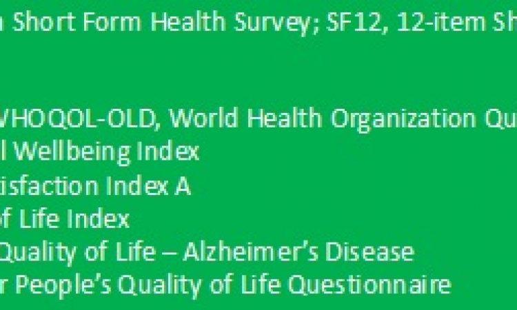 La evaluación del envejecimiento activo
