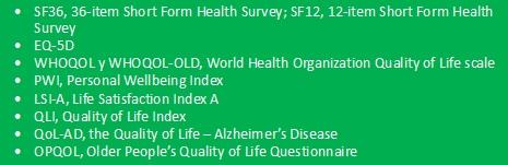 medidas de calidad de vida envejecimiento activo