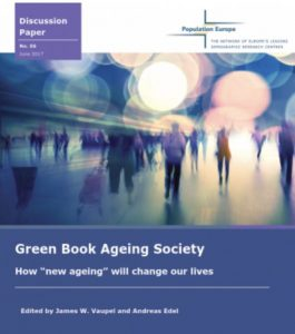 """Discussion Paper No. 6: Green Book Ageing Society How """"new ageing"""" will change our lives (2017)"""