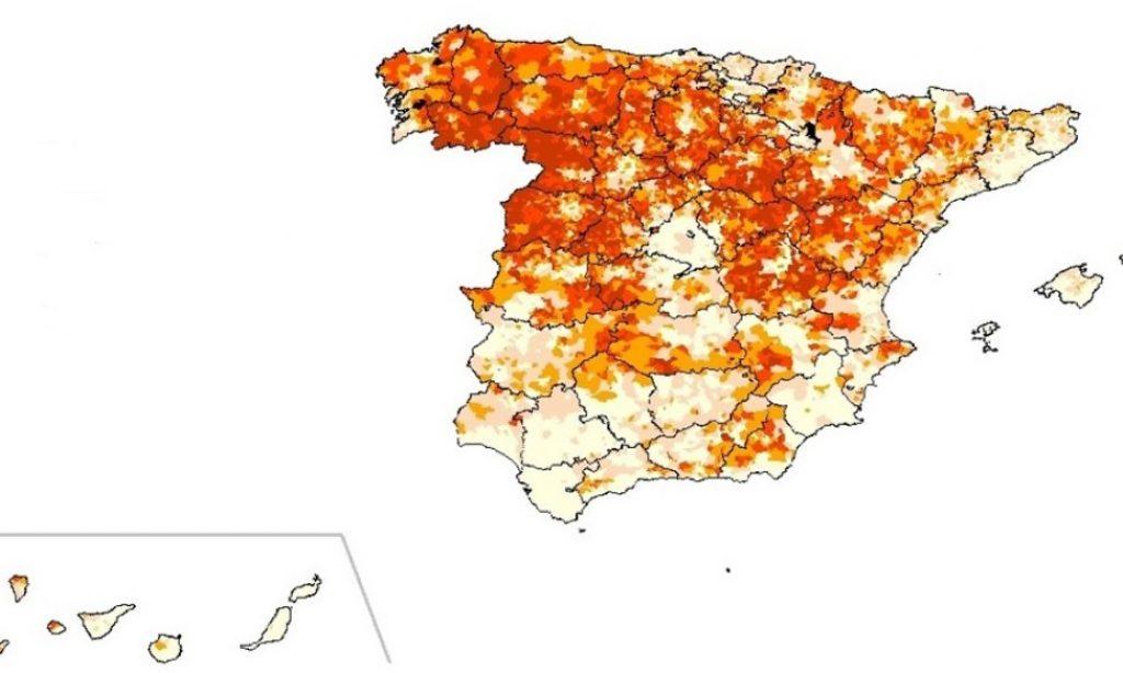 Mapa municipal del envejecimiento