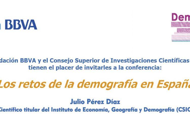 Los retos de la demografía en España