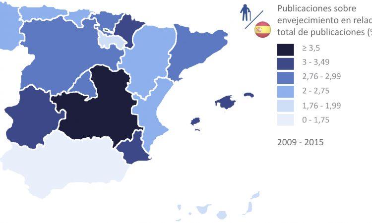 Análisis de la investigación sobre envejecimiento en España