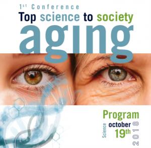 Primera conferencia TOP SCIENCE TO SOCIETY Aging @ IMDEA Food Institute
