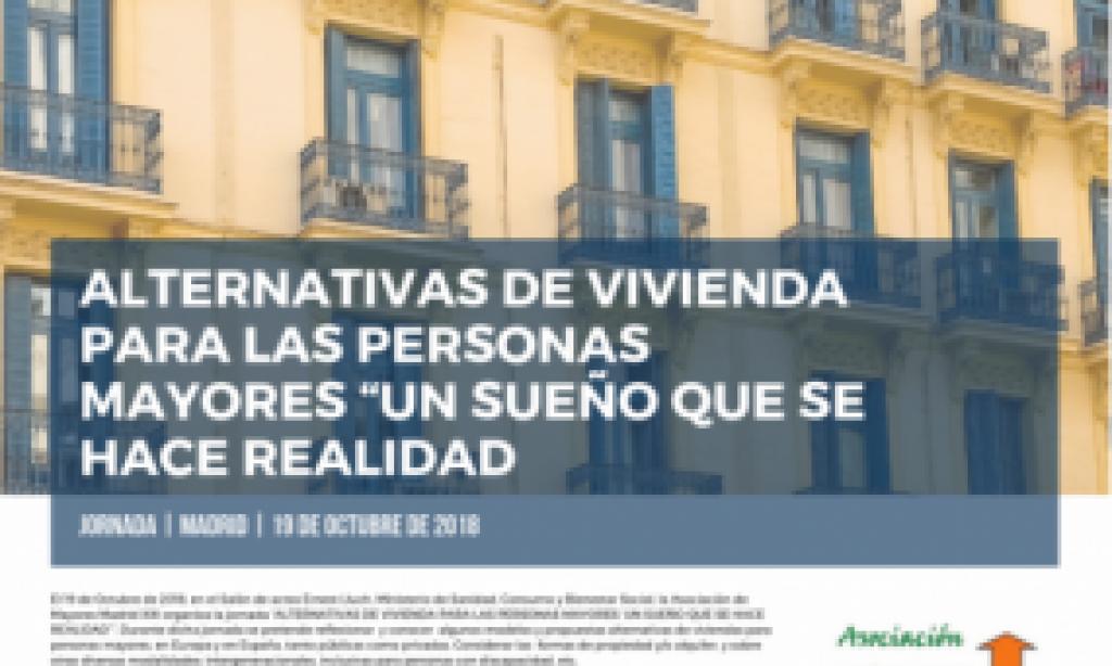 Jornada sobre alternativas de vivienda para personas Mayores