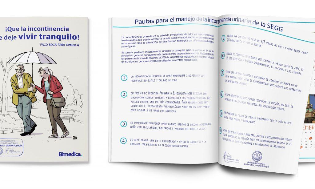 Pautas definitivas para el manejo de la incontinencia urinaria, de la mano de la SEGG y Bimedica