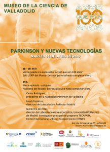 Jornada Parkinson y Nuevas Tecnologías @ Museo de la Ciencia de Valladolid