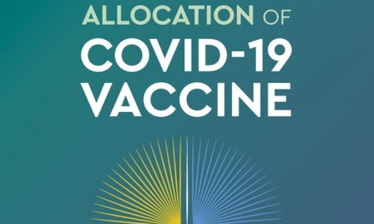 Marco para una distribución equitativa de la vacuna contra la covid-19