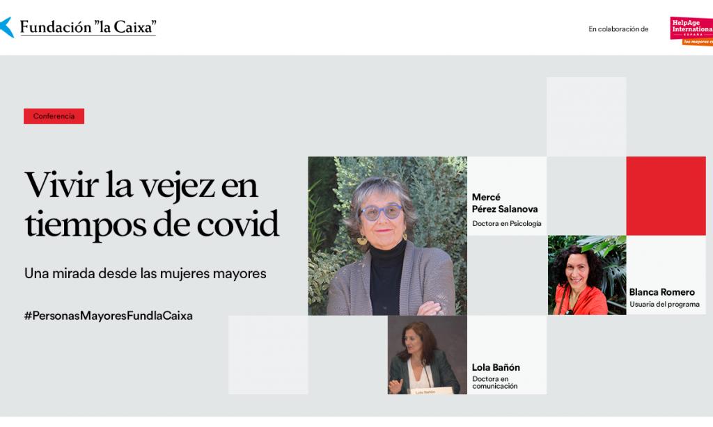 Vivir la vejez en tiempos de COVID: una mirada desde las mujeres mayores (Webinar)